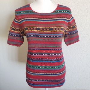 Vintage Ralph Lauren Country Western Sweater M